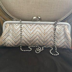 Coach Amanda Darcy Chain Clutch Handbag